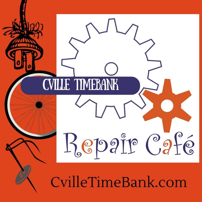 Repair Café Cville Timebank