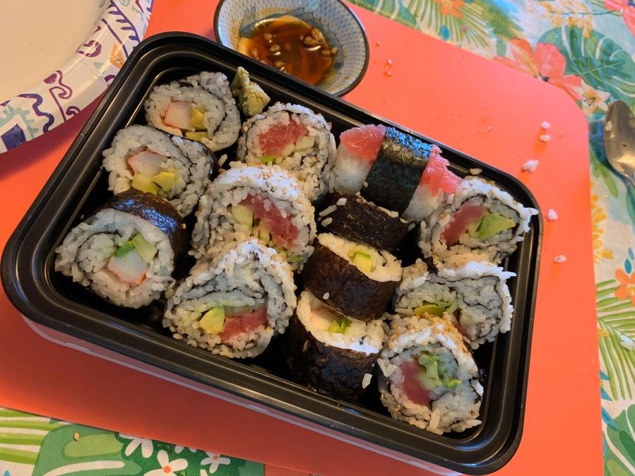 Tah-dah - Sushi!